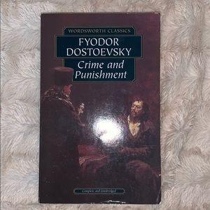 4/$20 📚Crime & Punishment by Fyodor Dostoevsky